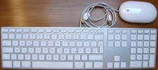 Apple USB Tastatur erweitert und USB Mighty Mouse