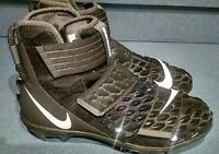 Nike Force Savage Elite 2 TD Men football Cleats Size 11 Black White AH3999 001