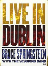 Bruce Springsteen with the Sessions Band - Live in Dublin (DVD, 2007)