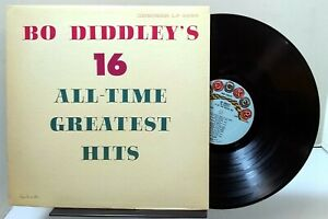 Bo Diddley - Bo Diddley's 16 All-Time Greatest Hits - CHECKER LP 2989