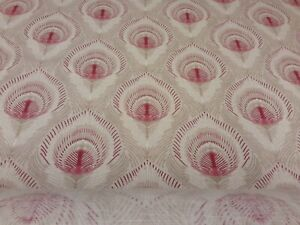 Roman Blind, Laura Ashley Montague Ruby fabric(Made to measure)