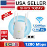 AZ-LINK 1200 WIFI Repeater 2.4G 5G 1200mbps Router & Wireless Range Extender