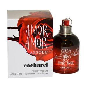 Amor Amor Absolu Por Cacharel 1,7 oz / 50 ML Eau de Parfum Spray para Mujer