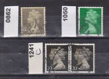 Großbritannien Michel-Nr. 862 + 1050 + 1241 C 2-fach - Königshäuser o