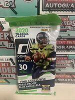 2020 PANINI DONRUSS FOOTBALL FAT PACK - 30 Cards BURROW, TUA, HERBERT RC's!