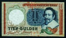 NIEDERLANDE. 10 Gulden 1953. P. 85.