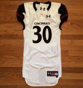 Under Armour Men's L Cincinnati Bearcats Football Diablo Jersey #30 $180 UF021JM