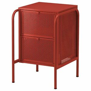 Brand NEW IKEA NIKKEBY Chest of 2 drawers, RED, 46x70 cm