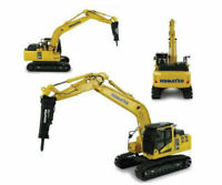 Komatsu Pc210lc-11 With Hammer Drill 1:50 Model 8140 UNIVERSAL HOBBIES