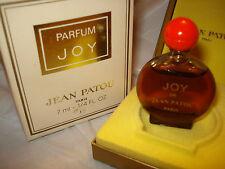 Vintage JOY by JEAN PATOU PURE PARFUM 7,5 ml~1/4oz FLACONNETTE