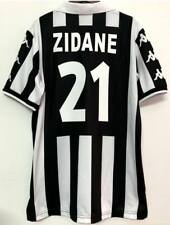Zinedine Zidane Juventus Team Brand New Men's Home Retro Soccer Jersey - ALL Siz