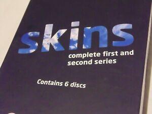Skins Season 1-2 Boxset – Region 2 DVD Channel 4 Series – Used Excellent