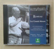 Rameau, Grands Motets, William Christie, Erato, comme neuf
