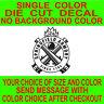 Springfield Armory Firearms Logo Weapon vinyl decal car truck window sticker