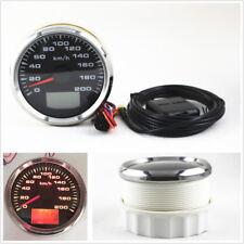 LCD Car GPS Speedometer Odometer Gauges 9-32V Speed Mileometers Trip Gauge Cog