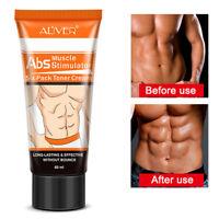 Men Abdominal Muscle Training Body Slimming Cream Abdomen Fat Burning CPUK