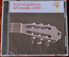 FESTIVALES GUITARRAS DEL MUNDO 2000 GUITAR CD EPSA (2001) ARGENTINA SEALED