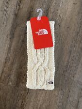 New listing The North Face Womens Fuzzy Cable Earband Ear Gear Eargear Vintage White OS