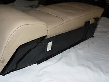 OEM 1995 BMW 740i Tan Rear Center Seat Backer and Fold Down Console Arm Rest