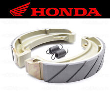 Set of (2) Honda Water Grooved REAR Brake Shoes and Springs #06450-KC2-680