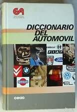 DICCIONARIO DEL AUTOMÓVIL - ENCICLOPEDIA DEL AUTOMOVIL - CEAC 1988 - VER ÍNDICE