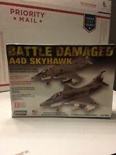 Lindberg BATTLE DAMAGED A4D Skyhawk  Aircraft Model Kit # 70963 1:72   (NISB)