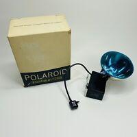 VINTAGE Polaroid Flashgun Flash #268 with Box Collectible Photography (B)