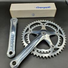 Chainset – Lovely Vintage Campagnolo C Record, Original Caps, Stunning Delta Era