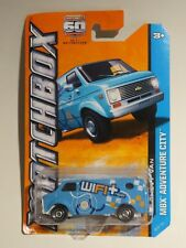 TOY Car ~^~ 2012 Mattel MATCHBOX '75 Chevy Van MBX Adventure City ~ WIFI Repair