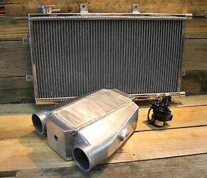 Aluminium Water To Air Intercooler Kit