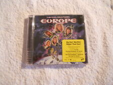 """Europe """"The Final Countdown"""" 2001 cd Remastered Sony Music  NEW"""