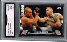 2017 Conor McGregor Topps UFC  Gem Mint 10 #2