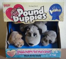 Pound Puppies ,Welsh Terrier Family,vtg 1996 Galoob,new