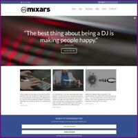 DJ EQUIPMENT Website Business For Sale - Work From Home Amazon Affiliate + Host