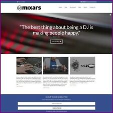 DJ EQUIPMENT Website Business For Sale - Upto £175.92 Commission A Sale Dropship