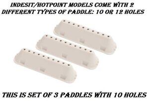 Hotpoint FML742 FML842 HF6B351 Hult 742 pukm Hult 843 pukm HV5L125 HV6F160 Paddles