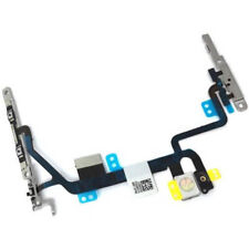 Power / Volume Buttons Flex Cable  & Mute Switch With Brackets For iPhone 8