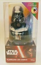 Darth Vader Tie Fighters The Rebellion Star Wars LED Candle Color Changing Light