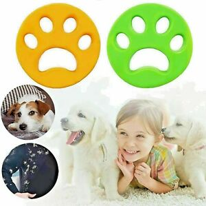 Pet Hair Remover for Laundry Washing Machine Cat Dog Fur Catcher Reusable New UK
