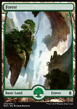 MTG FOREST #272 FOIL - FORESTA FULL ART 3 - BFZ - MAGIC
