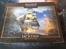 NUOVO ASSASSINI Creed IV Black Flag Jackdaw Nave Pirata Maquette 1:1000 3D SIGILLATO