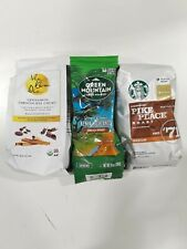 3 BAGS (34ounces) OF GROUND AND WHOLE COFFEE BEANS VARIETY PACK