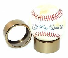 Modern Premium Polished Gold Signed Autographed Baseball Ball Display Stand