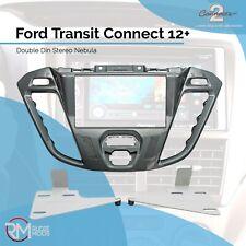 Ford Transit Custom 2012-16 Phoenix plata doble DIN Facia KIT /& volante