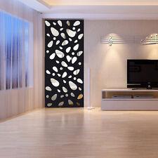 12pcs 3D Wand-Spiegel-Aufkleber-moderne Kunst-Dekoration-Ausgangsdekor neu