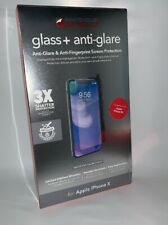 Zagg InvisibleSHIELD Glass Anti-Glare Screen Protector (Clear) for iPhone XS / X