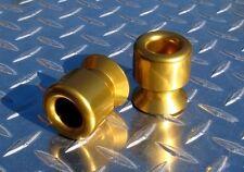10mm GOLD Swingarm Spools 250R 300 650R ZX6 ZX10 ZX12 ZX14 Z1000 Z800 Z750 ER6
