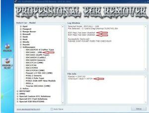 Professional DPF EGR LAMBDA OFF HotStart Software ECM Titanium Tuning Remapping