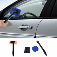 1*Microfiber Windshield Clean Car Auto Wiper Cleaner Glass Window Tool Brush Kit