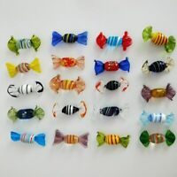 Vintage Murano Glass Sweets Candy Wedding Party Gift Xmas Decor Ornaments 12pcs